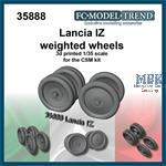 Lancia IZ weighted wheels