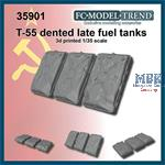 T-55 late dented fuel tanks