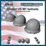 Dented U.S.A. helmet