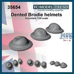 UK dented helmet