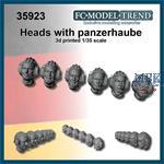 Panzerhaube heads