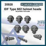 IDF type 602 helmet heads set