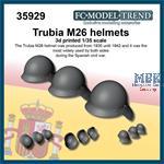 Trubia M26 helmets