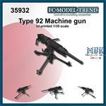Type 92 Japanese machine gun