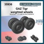 GAZ Tigr weighted tires