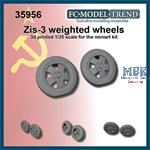 ZIS-3 & Universal limber weighted wheels