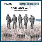 Civilians / Zivilisten Set 2 (1:72)