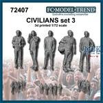 Civilians / Zivilisten Set 3 (1:72)
