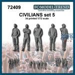 Civilians / Zivilisten Set 5 (1:72)