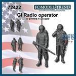 GI Radio operators - World War II (1:72)