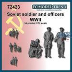 Soviet soldiers, set 1 (1:72)