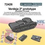 Verdeja tank 2nd prototype  (1:72)