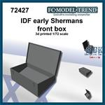 IDF early shermans front box  (1:72)