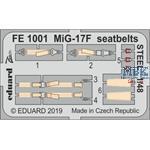 Mikoyan MiG-17F seatbelts STEEL 1/48