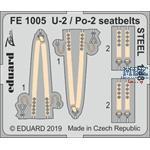 Polikarpov U-2 / Po-2 seatbelts STEEL 1/48