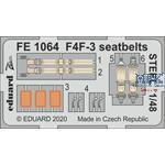 Grumman F4F-3 seatbelts STEEL 1/48