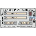 North-American P-51H Mustang seatbelts STEEL 1/48