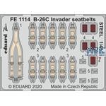 Douglas B-26C Invader seatbelts STEEL 1/48