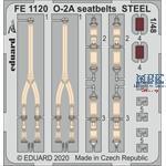 Cessna O-2A Skymaster seatbelts STEEL 1/48
