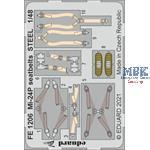 Mi-24P seatbelts STEEL 1/48