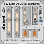 Arado Ar 234B seatbelts STEEL 1/48