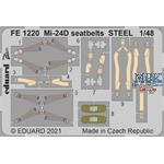 Mil Mi-24D seatbelts STEEL 1/48