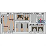 Tornado F.3 ADV seatbelts STEEL 1/48