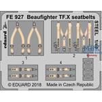 Beaufighter TF. X seatbelts STEEL 1/48