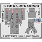 MiG-25PD seatbelts STEEL 1/48