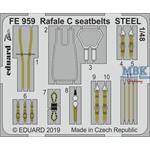 Rafale C seatbelts STEEL 1/48