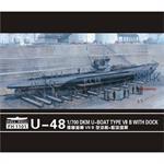 U-48  Type VII B +  Dock Scene