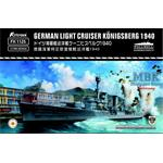 German Light Cruiser Königsberg 1940