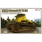 Renault FT 75 BS 2 Stück