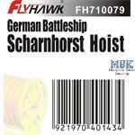 German Battleship Scharnhorst Hoist