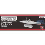 German Battle ship Tirpitz 1:2000