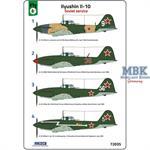 Ilyushin Il-10 Soviet service