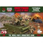Flames Of War: T-34 Tankovy Company