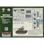 Flames Of War: M4A3 (late) Platoon