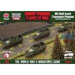 Flames Of War: M5 Half-track Transport Platoon