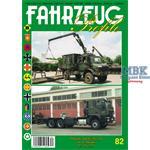 Fahrzeug Profile 82 - Die ungeschützten LKW der Bw