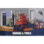 Garage & Tool Set GT15  1/24