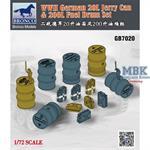 German 20l Jerry Can & 200l Fuel Drum Set