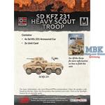 Flames Of War: Sd Kfz 231 Heavy Scout Troop