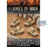 Flames Of War: Sd Kfz 10/4 2cm Light AA Platoon