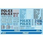 911 Modern Police Decals / Polizei Decals
