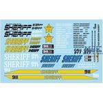 Modern Sheriff Cars / Polizei Decals