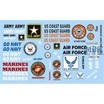Armed Services / Militärdecals