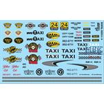 Taxi Decals