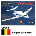 Mystere 20 / Falcon - Belgian Airforce