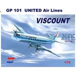 Vickers Viscount 700 United Airlines